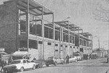 Строящееся здание нового рынка в Нахабино