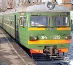 Электропоезд ЭР1219 на Рижском вокзале. Фотография Г.Конышева