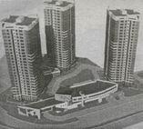 """Проект нового жилого массива в микрорайоне """"ЮжныйЭ"""